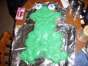 The Show's Frog Cake